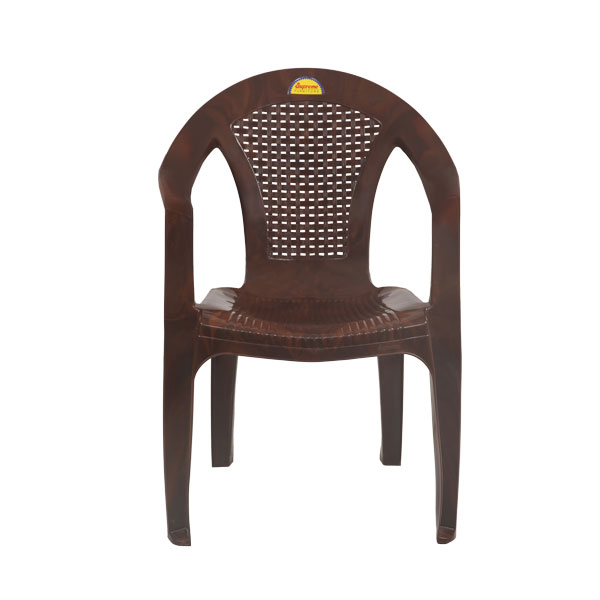 Pulsar Teakwood Monoblock Chairs With Arm