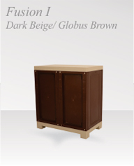 fusion1 darkbeige globus brown