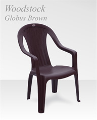 Wood Stock Globus Brown