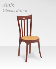 Antik Globus Brown
