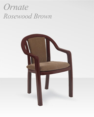 ornate rosewood borwn