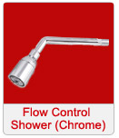 Flow Control Shower chrome