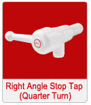 Right Angle Stop Tap Quarter Turn