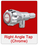 Right Angle Tap chrome