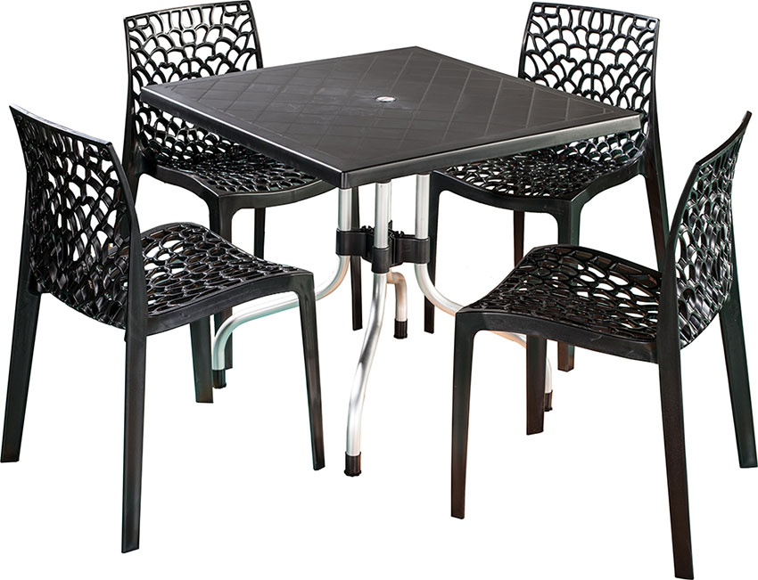Dining Table Set In Plastic Nilkamal Plastic Dining Table Set Price Modern Furnitures C R