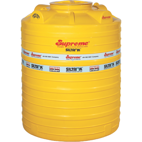 Yellow Drinking Water In Tanks