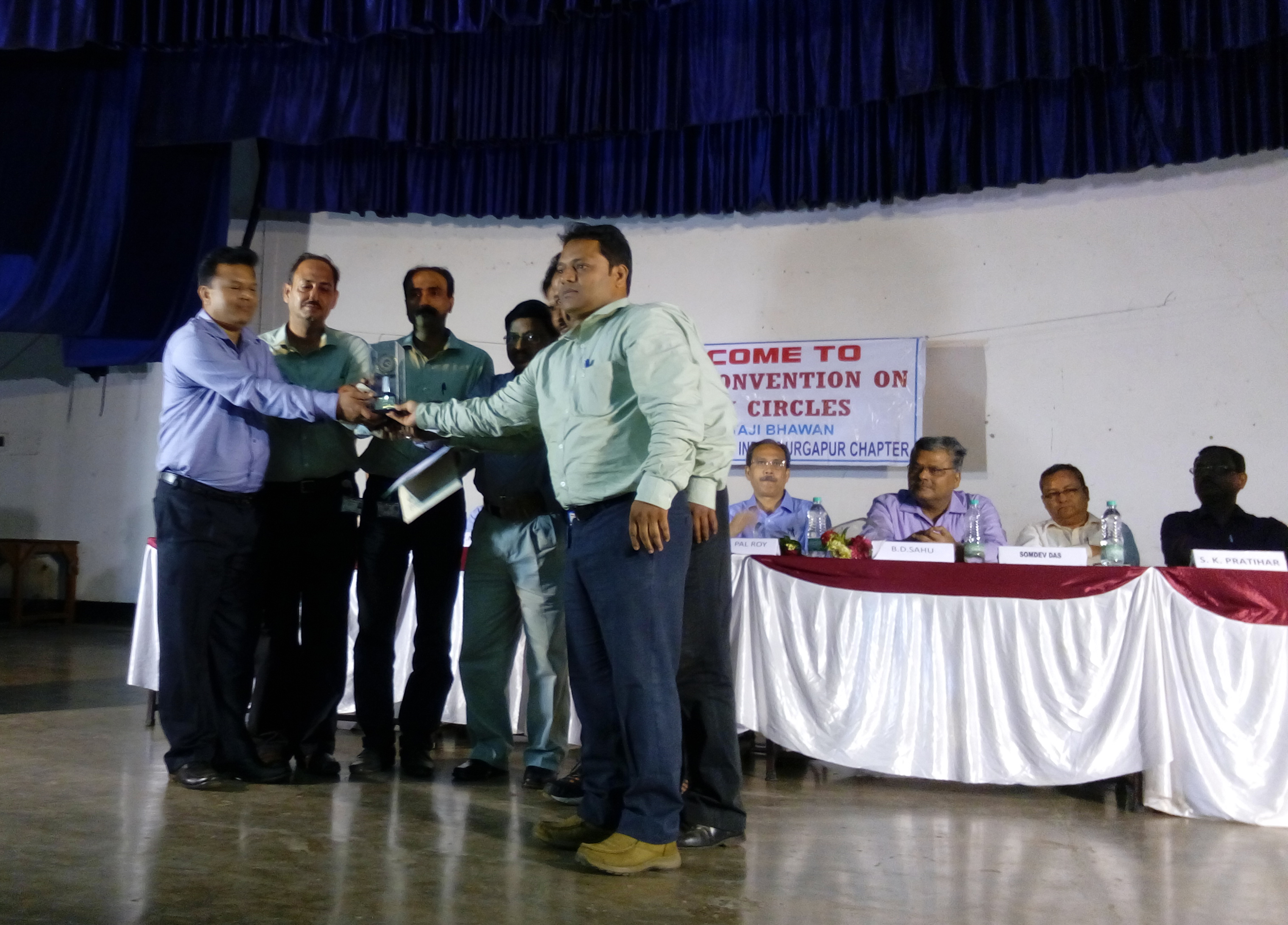 Gold Category Award to Durgapur Unit